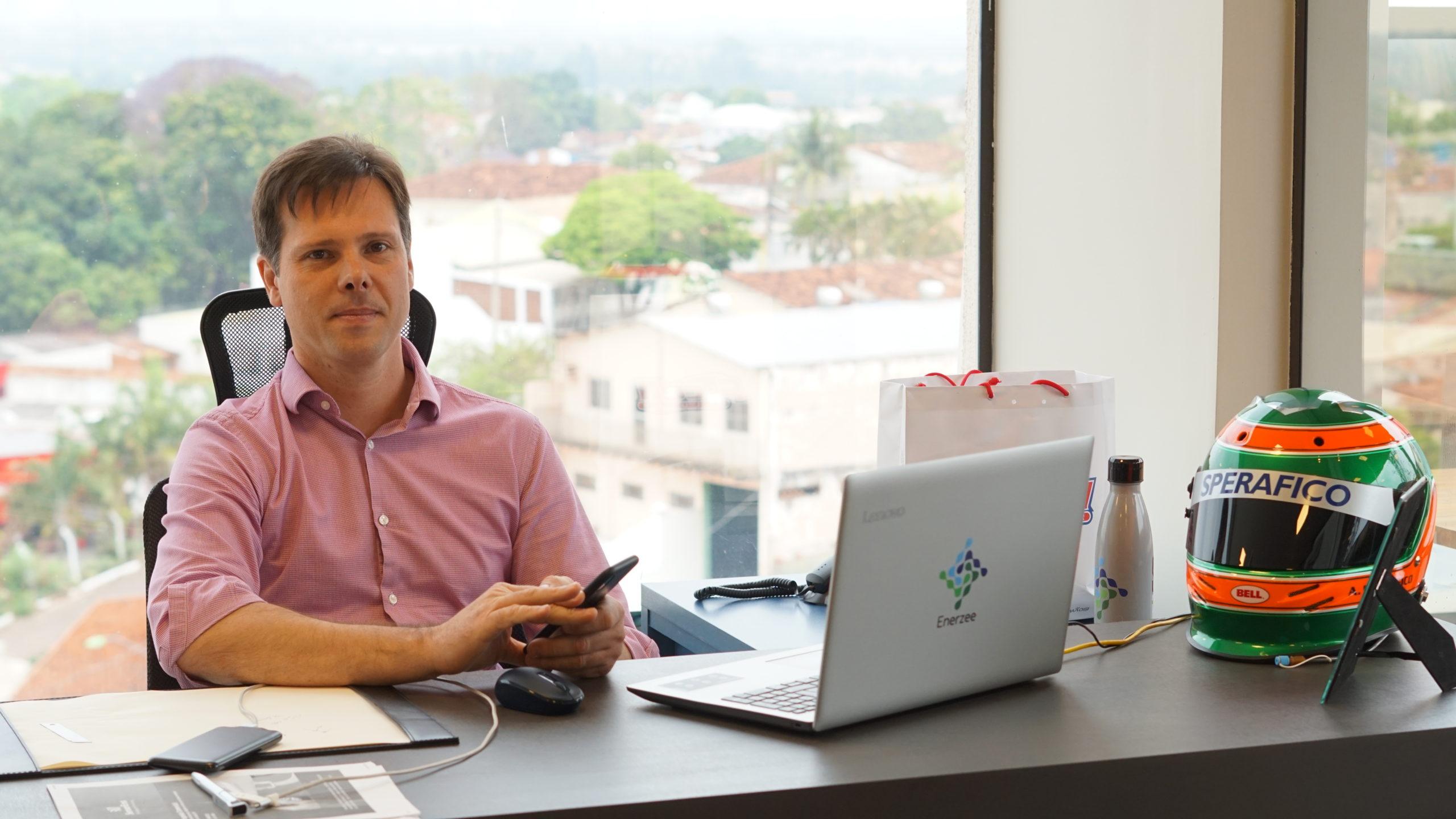 Alexandre Sperafico, CEO da Enerzee
