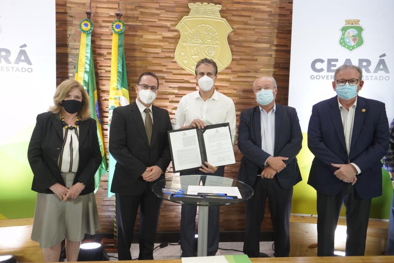 assinatura de protocolos para produção de hidrogênio verde no Ceará